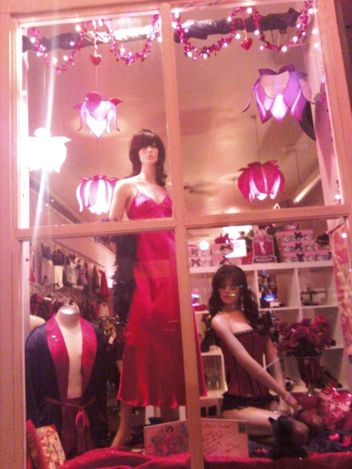2012 Valentine's Day Window Display