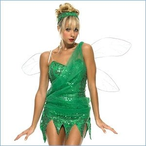 Green fairy outfit available at Naughty or Nice