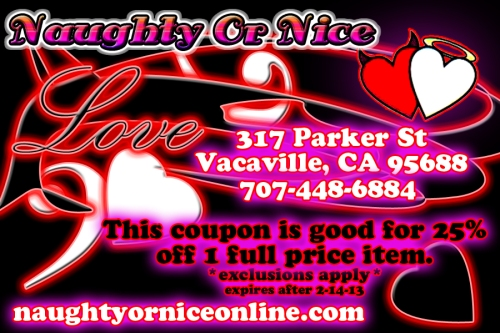 V day coupon