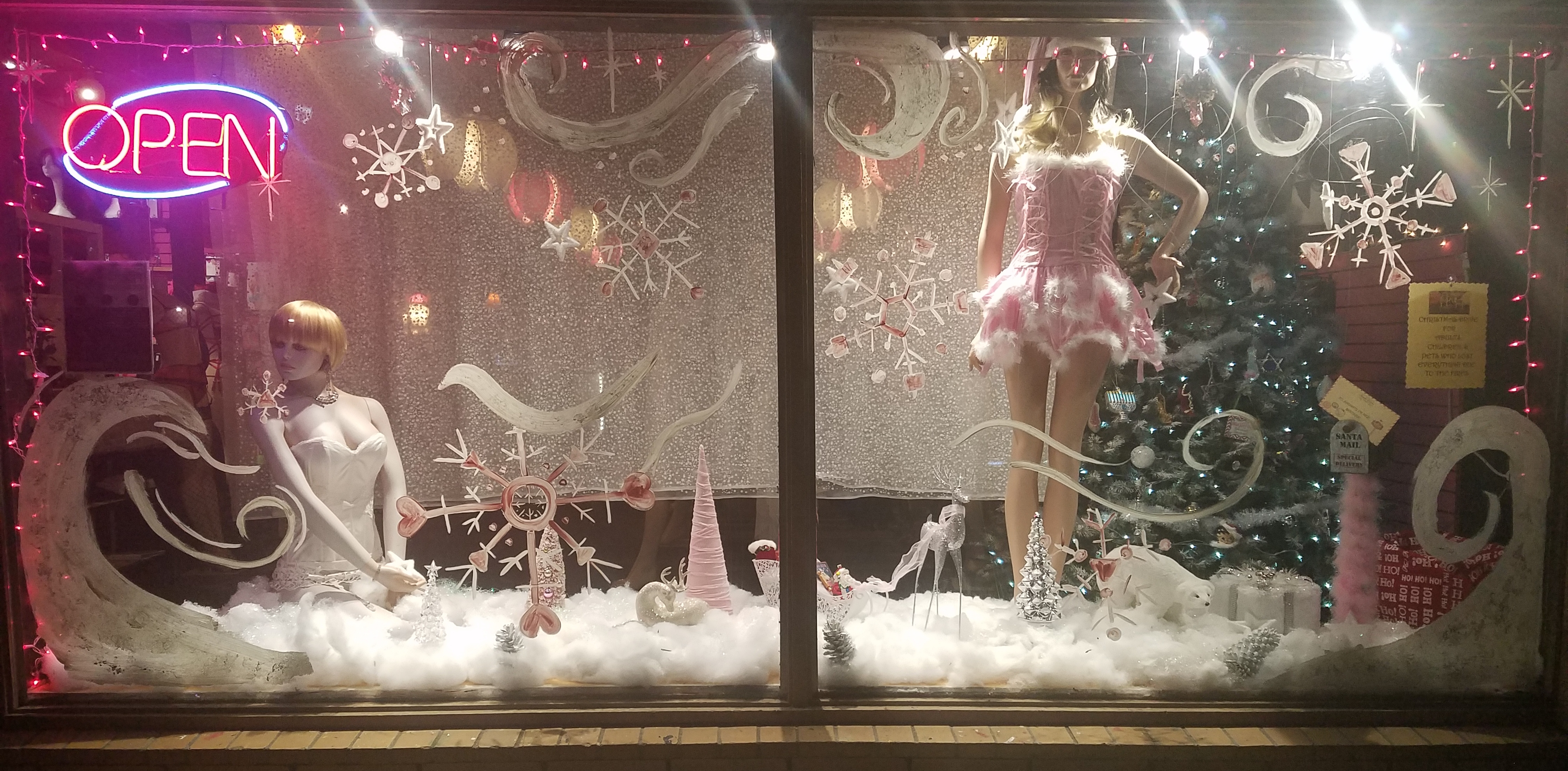 Naughty Or Nice Boutique Specializing In Lingerie Shoes