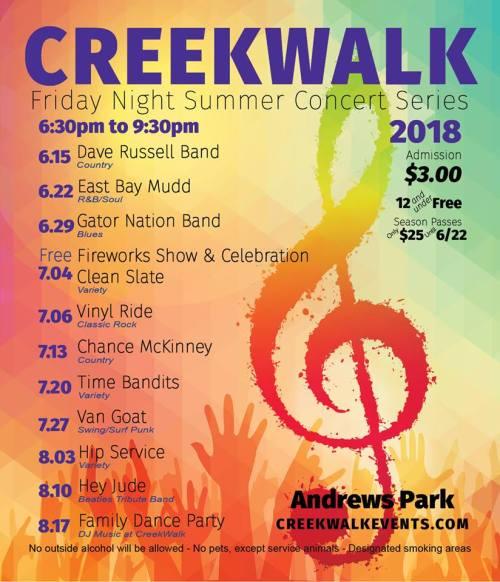 Creekwalk 2018