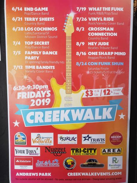 Creekwalk Poster